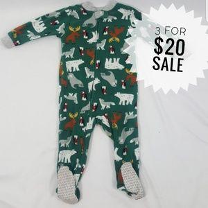 Footed Pajama Onsie Size 18 Months